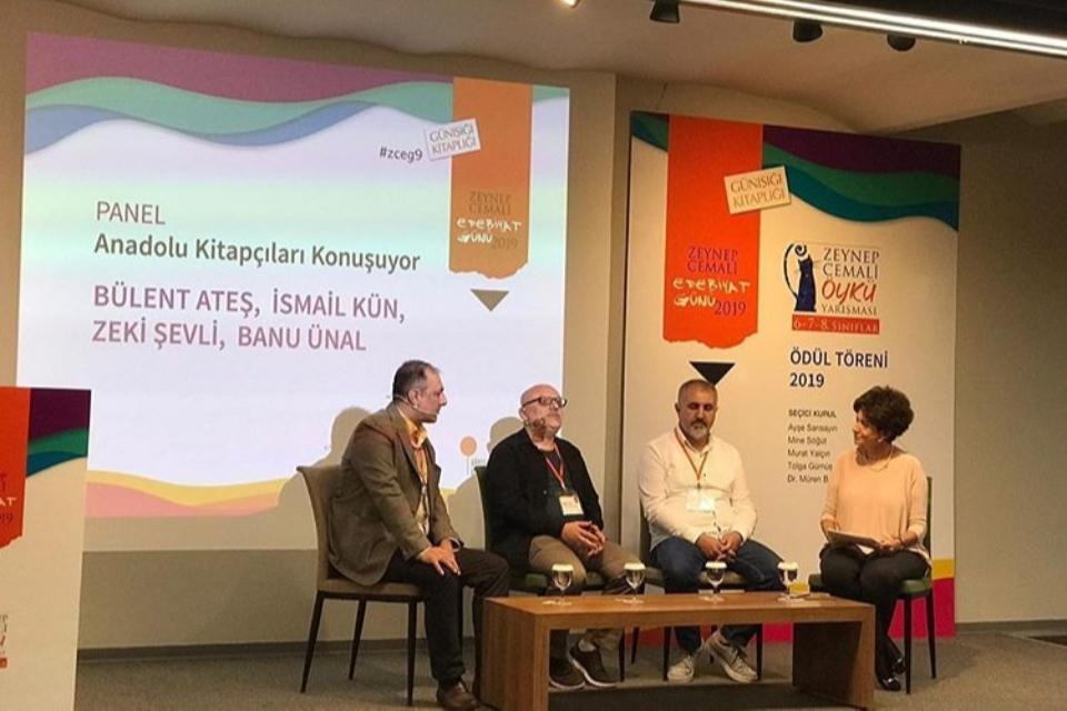 Zeynep Cemali Edebiyat Günü'ne bu sene Yönetim Kurulu Başkanımız M. Zeki Şevli de konuşmacı olarak katıldı.